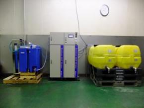 環境加工水の製造設備
